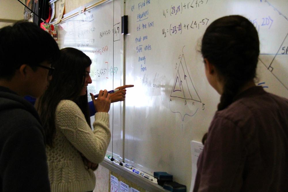 Math Club prepares for AMC – The Burlingame B