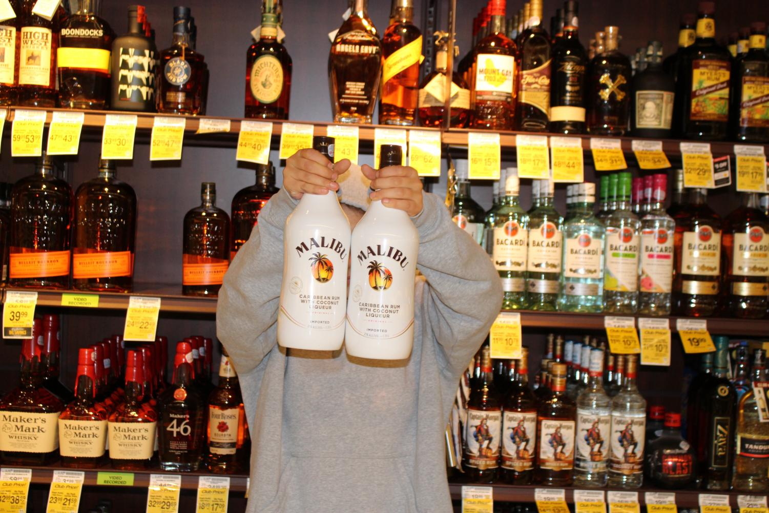 Alcohol is one of the most commonly shoplifted items.