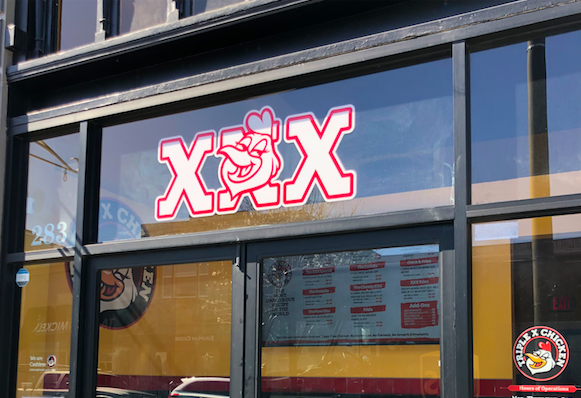 XXX Chicken is a new hotspot after it replaced Cherimoya last month.