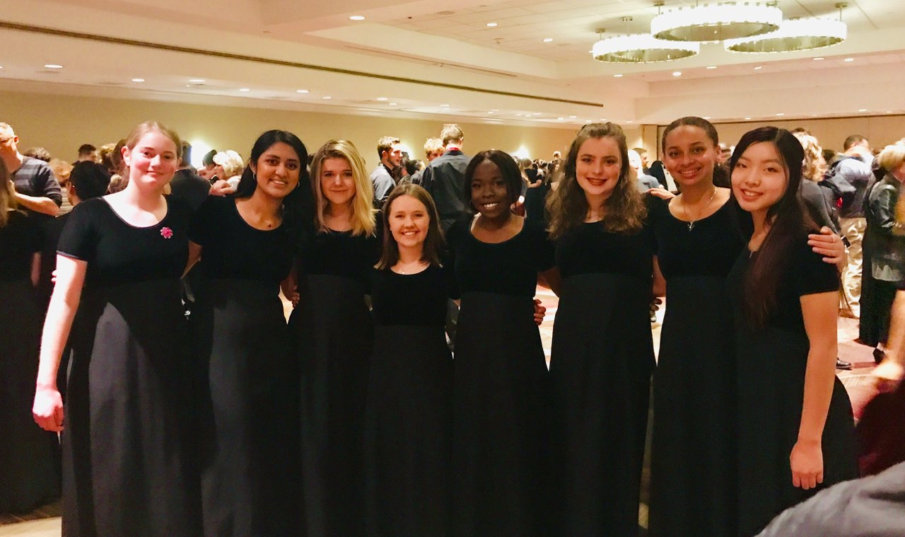 BHS-SMHS Choir performed at Carnegie Hall in New York City.