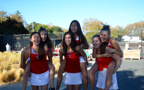 Tennis team says goodbye to their departing seniors on senior night