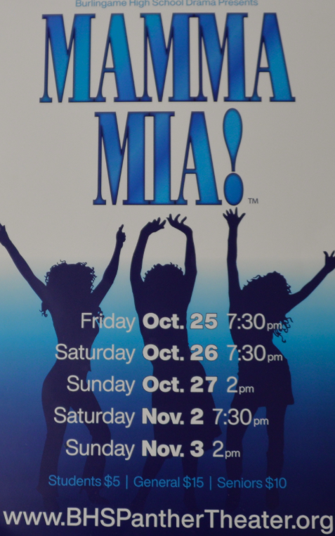 Mamma Mia - yet another outstanding Burlingame musical