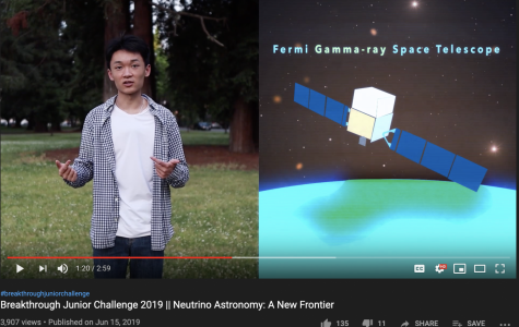 Chen wins international science video competition