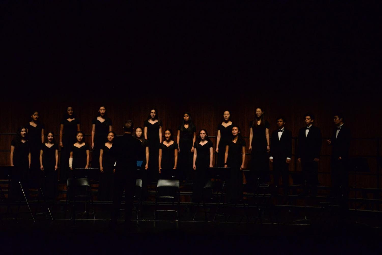 Burlingame High School Chorus preforming Light, by Lisa Loeb and Cliff Goldmacher.