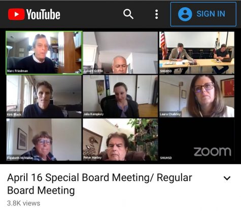 The five Board members met in a public Zoom call on Thursday night, which was also broadcast live on YouTube.