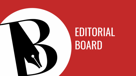 Photo of The Burlingame B Editorial Board 2019-2020