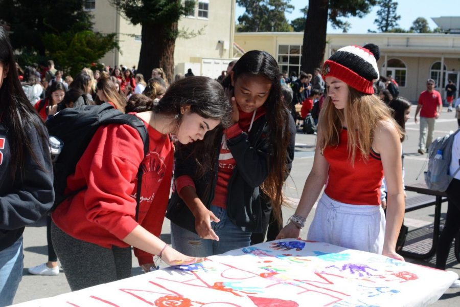Students participate in BHS Unite Against Hate event