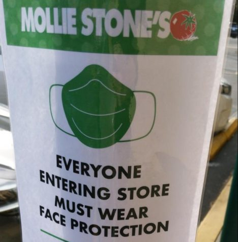 Mollie Stones, like many other grocery stores, is taking measures to ensure customer safety as they stay open.