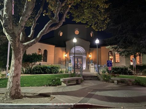 On a Friday night, the library shines bright despite challenging times.
