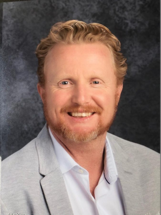 Joshua Knudson, Assistant Principal, brings a unique perspective to Burlingame High School.