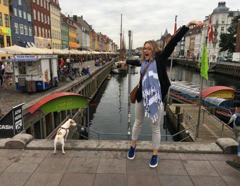 Kelsey Holtzinger on one of her many travels to Copenhagen, Denmark.