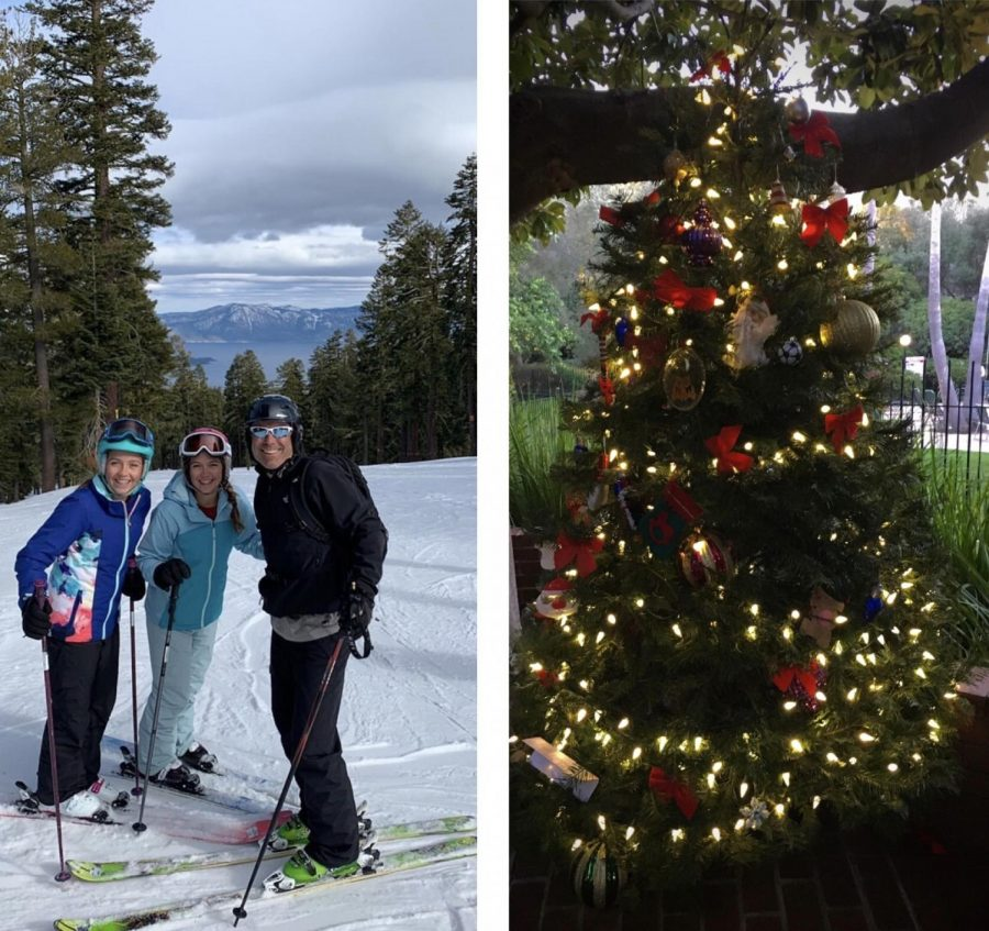 Although many gatherings this holiday season will be less conventional as a result of COVID-19, many are still capturing the celebratory atmosphere by setting up Christmas trees. Others like sophomore Rorie Stone hope to head up to Lake Tahoe, with ski resorts being open whilst implementing precautionary guidelines.
