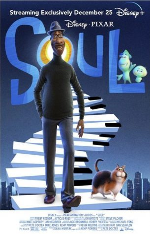 "Joe Gardner, voiced by Jamie Foxx, and 22, voiced by Tina Fey, star in Pixar's latest film ""Soul""."