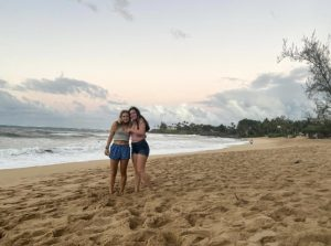 Jacklyn and Michaela Nee officially moved to Maui in December of 2020.