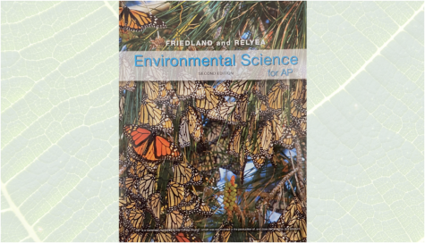 The Advanced Placement (AP) Environmental Science textbook students use to guide their studies.