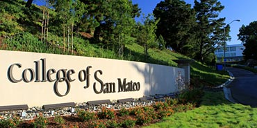 SMUHSD students who attend Middle College attend classes at the CSM campus.