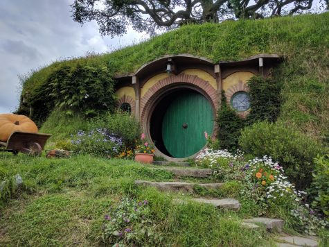 "Amazon is filming its upcoming ""Lord of the Rings"" prequel TV show in New Zealand, following in the footsteps of Peter Jackson's previous films. Pictured above is Bag End at the Hobbiton Movie Set in Matamata, New Zealand."