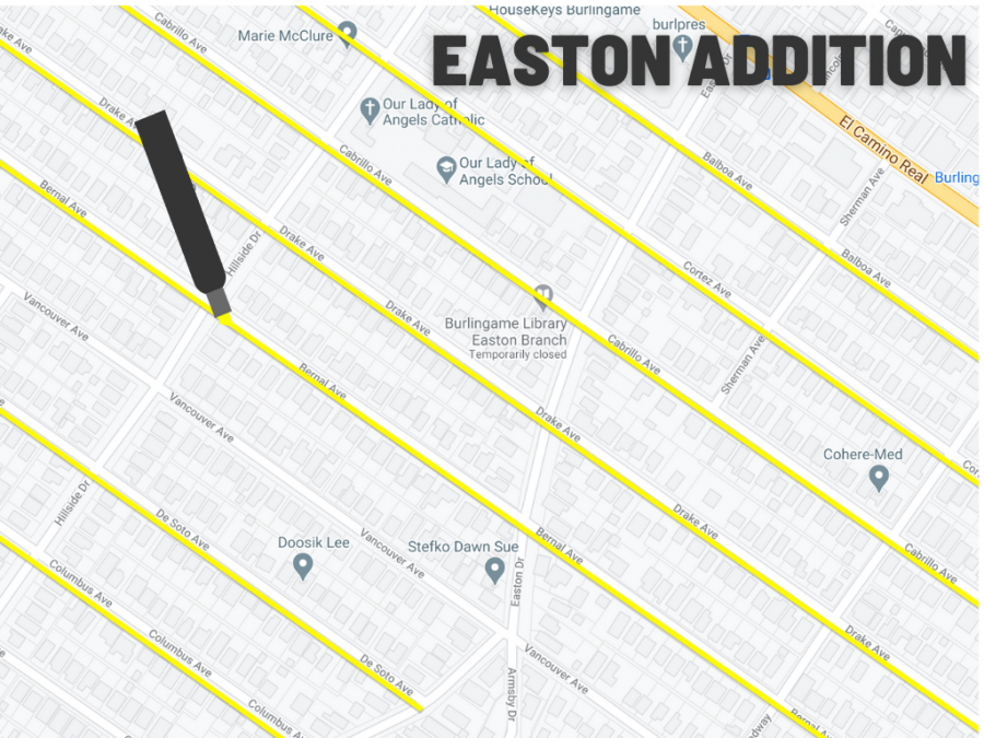 In the Easton Addition, many of the streets are named for early conquistadors and explorers who brought genocide and colonization to the Americas.
