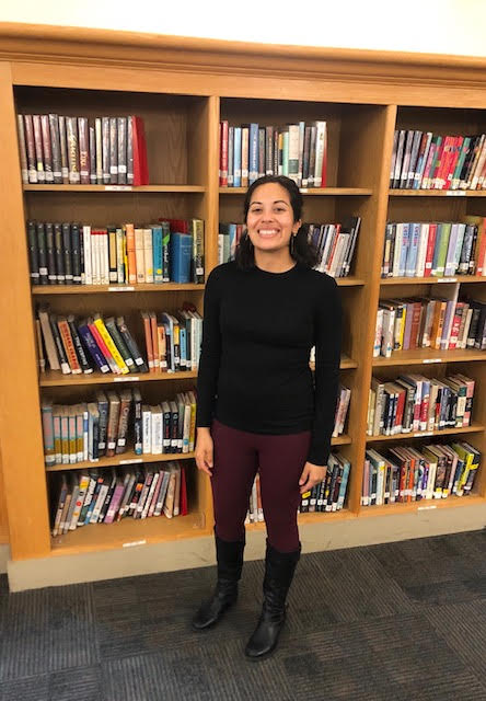 "In terms of the way things are currently run in the library, Otero states, ""It's changed in the work that I do, mostly by having to… come up with creative ways to still provide the resources that [students] need."""