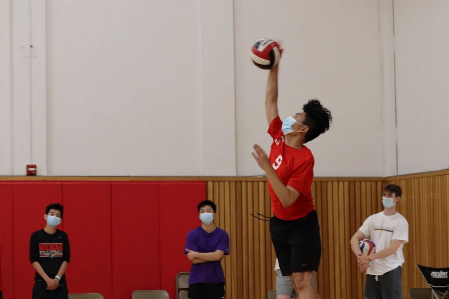 COVID-19 restrictions hold back boys volleyball team in season debut